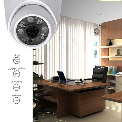 پکیج دوربین مداربسته آنالوگ آی تی آر مدل DK1_2R28_2D28_411