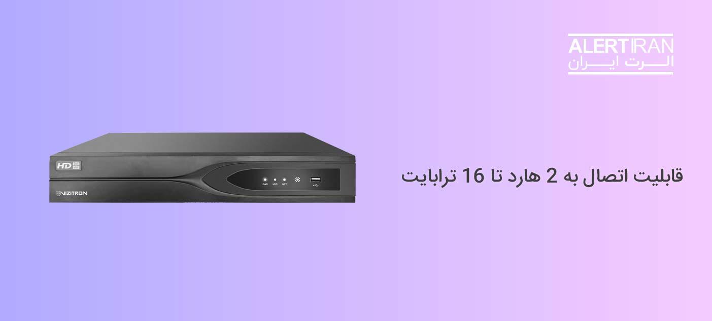 دستگاه NVR ویزیترون مدل VZ-ND2248K