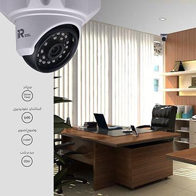 پکیج دوربین مدار بسته آی تی آر مدل DK_2R207FN_2D24FN_G4