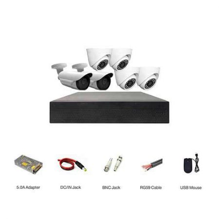 پکیج دوربین مداربسته اقتصادی مدل ECO-4D2B