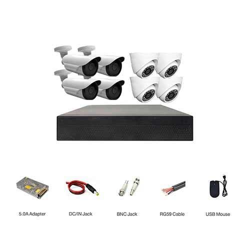 پکیج دوربین مداربسته اقتصادی مدل ECO-4D4B